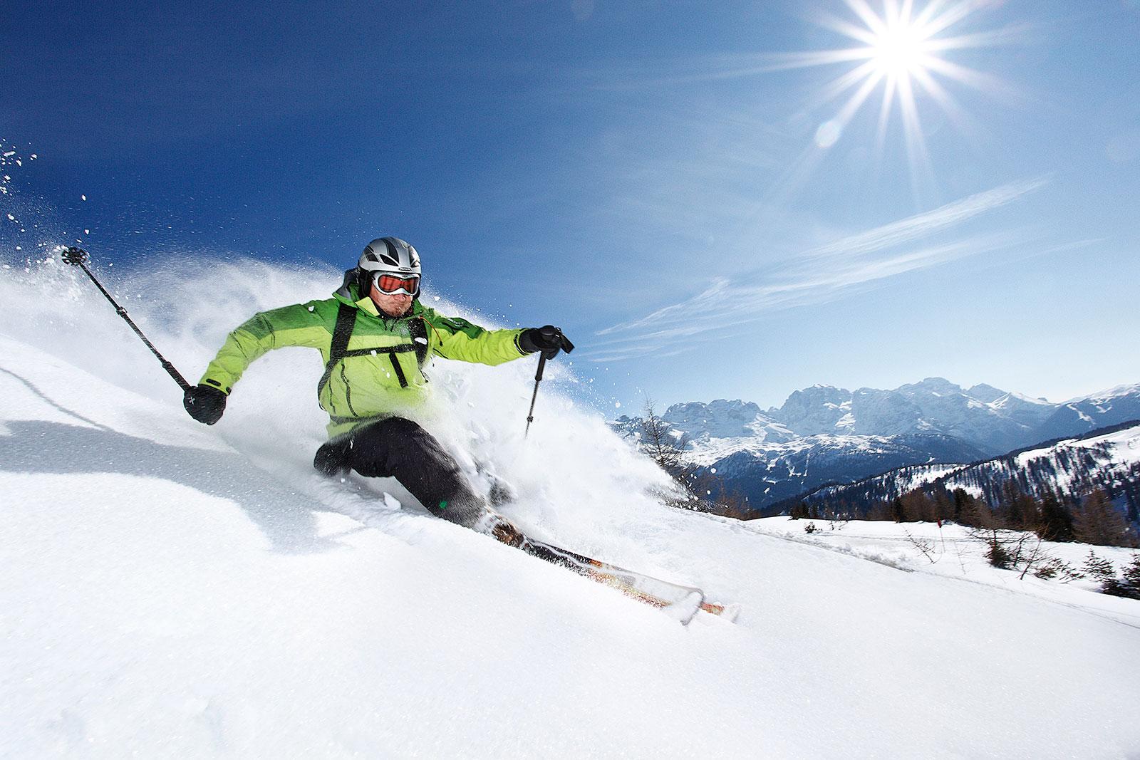 Sciatore Folgarida Marilleva, Visitvaldisole
